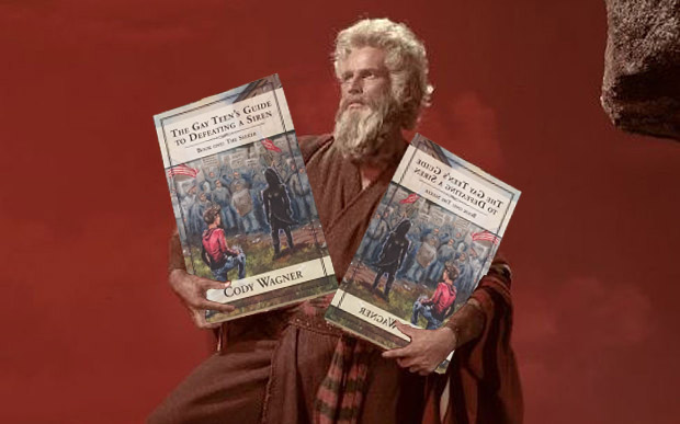 Moses with Books