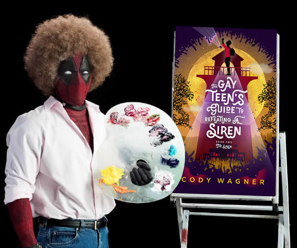 Bob Ross Deadpool LGBTQ